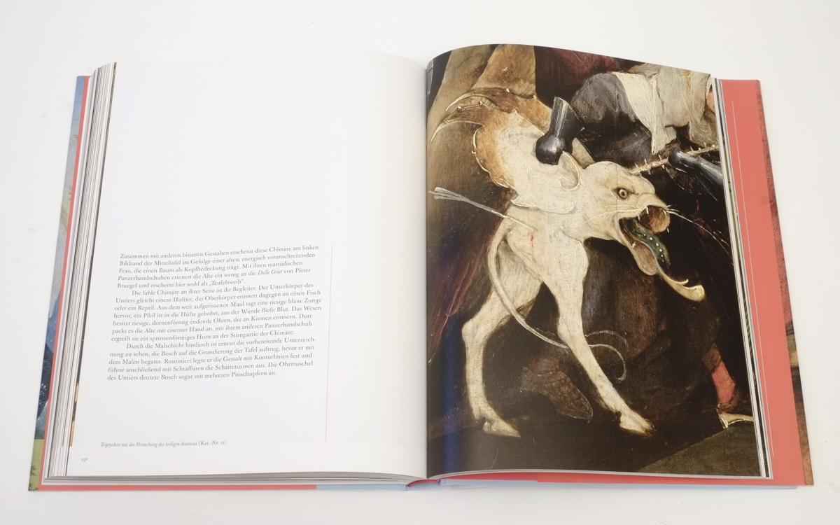 Hieronymus Bosch: Die Versuchung des Heiligen Antonius, ca. 1505/10, Detail