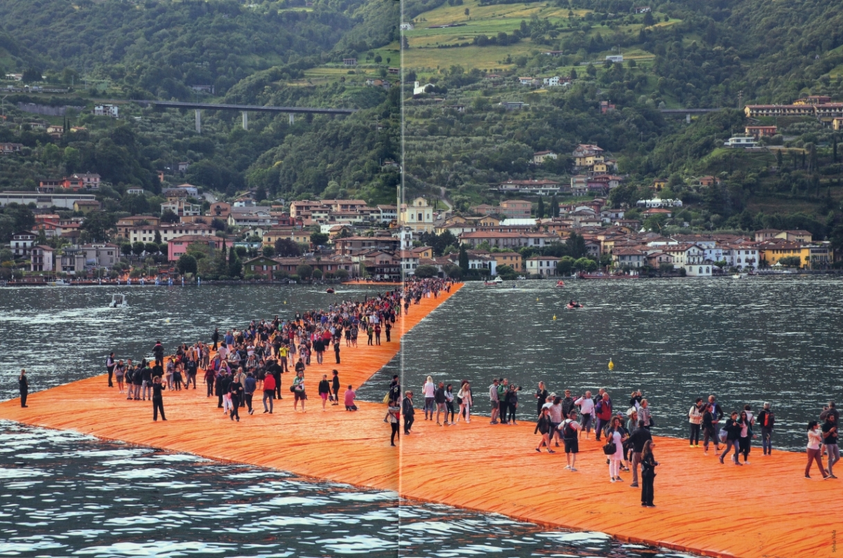 Christo & Jeanne-Claude - The Floating Piers - 2014-2016, pp. 110-111